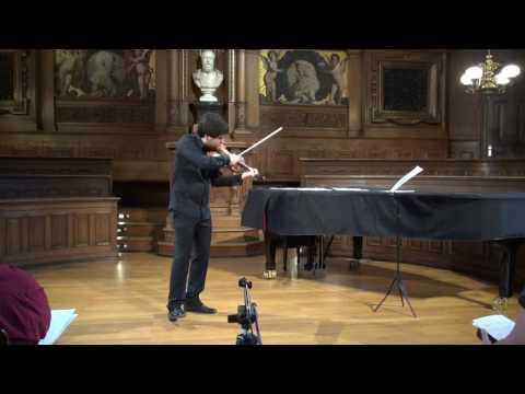 Isaac Albeniz: Asturias / Mikhail Pochekin, Violin