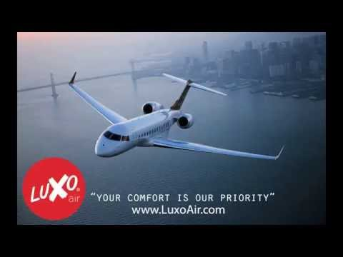 LuxoAir Private Jet Charter Commercial