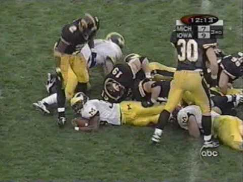 1998: Michigan 12 Iowa 9