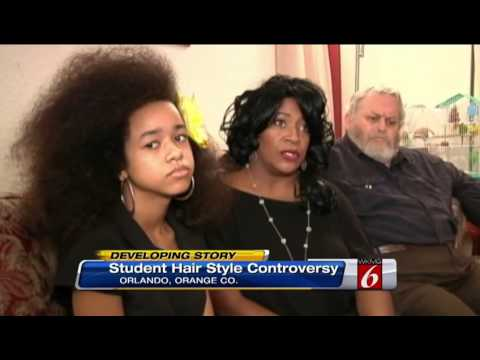 African American Girl Faces Expulsion Over Natural Hair