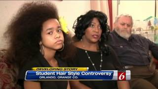 African-American Girl Faces Expulsion Over Natural Hair
