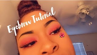 Eyebrow Tutorial || Kia's Kingdom