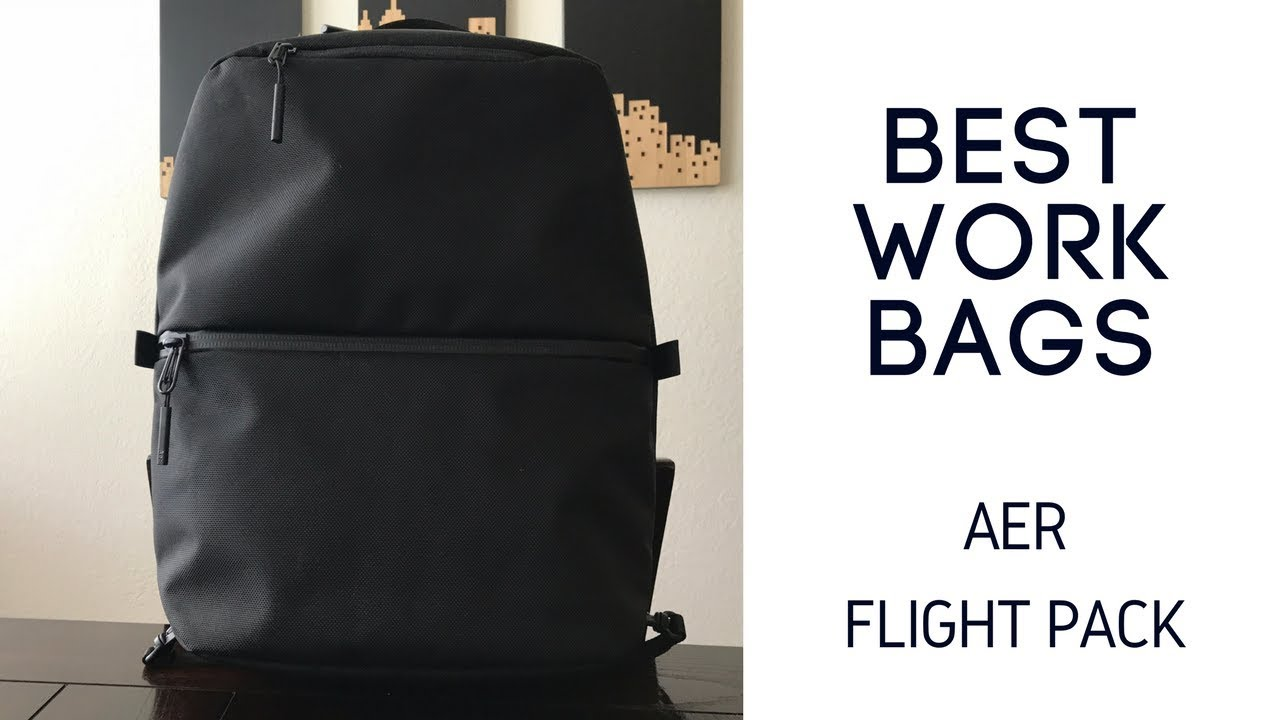ad536bfc3a0a Best Work Backpacks  Aer Flight Pack Review - YouTube