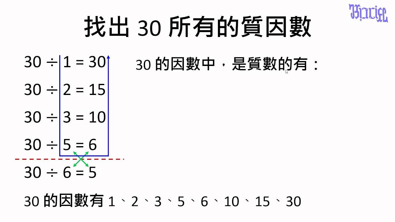 質數與質因數 - (12)練習尋找質因數 - YouTube