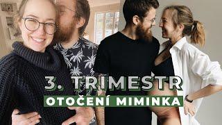 3. TRIMESTR | Nicole | Příprava na porod, otočené miminko