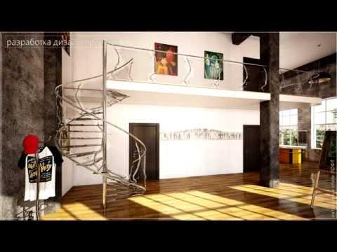 """Галерея «DG Replica» - Дизайн интерьеров в стиле """"Лофт"""". Портфолио работ"""