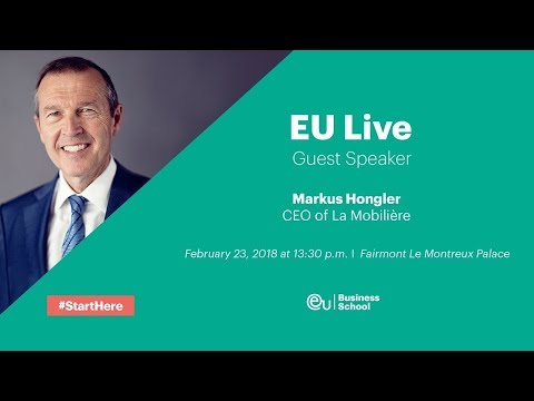 EU Live full version: Markus Hongler, CEO of La Mobilière