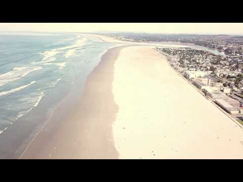 Summer-like Weather at Seaside - Oregon Coast March 2018