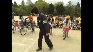 平成23年碧水小学校で交通安全教室