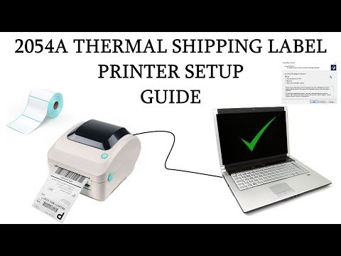 Updated Setup Guide - Arkscan 2054A Thermal Shipping Label