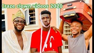 Craze clown comedy Vs  Mark Angel Videos 2019
