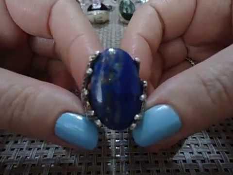 Мои кольца... серебро, натуральные камни