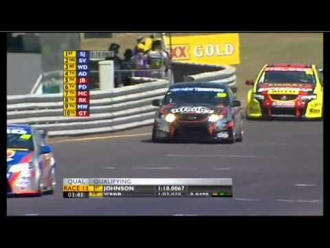 V8 2011 Event 6 (Darwin) Qualifying Highlights Sunday