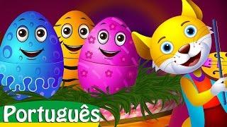 ovos surpresa com brinquedos de canes de ninar   chuchu tv portugus