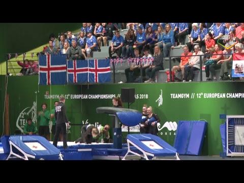 REPLAY - 2018 TeamGym Europeans - Qualifications – Senior Women's Teams