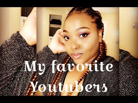 Favorite Youtubers (Makeup Shayla, Jackie Aina, Jayla Koriyan +more) thumbnail