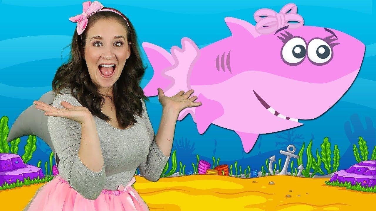أغنية طفل القرش Baby Shark Song Youtube