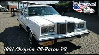 1981 Chrysler LE-Baron V8, APK-2023 | VS-import.nl
