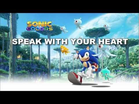 [SONIC KARAOKE] Sonic Colours - Speak with your heart (Cash Cash) [WATCH IN HD]