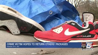 Woman tries to return items to owners after finding them in her stolen SUV