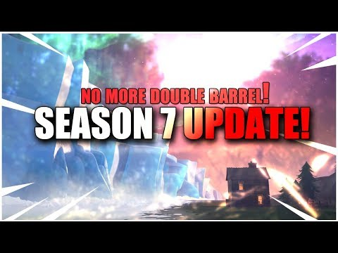 SEASON 7 PATCH NOTES! New Fortnite Update!