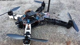 Q330 quadcopter, runcam night eagle, night flyer