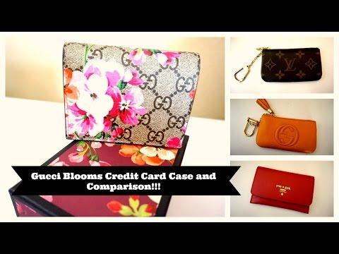 Gucci Credit Card Case and Comparison!