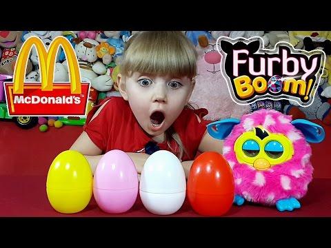 Откуда появляются Фёрби? Обзор коллекции Хэппи Мил Ферби Ноябрь 2015. Furby Happy Meal November 2015