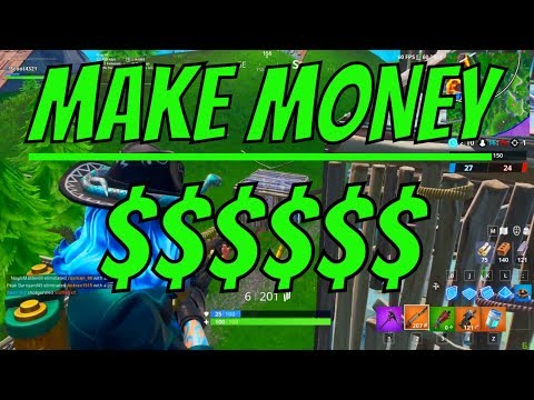 HOW TO MAKE MONEY PLAYING FORTNITE IN 2019 (EASY)