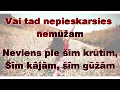 Jenny May & Jānis Grodums - Nāk nakts (Karaoke vārdi)