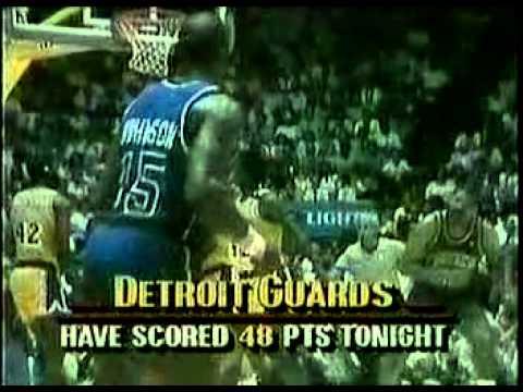 1989 NBA FINALS Game 4 9of10 Pistons Lakers joe dumars James Worthy