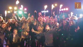 Корпоратив компании ВТБ ФАКТОРИНГ - отзыв о Ферджулян шоу(В бизнес центре RiverSide Towers (находится в центре Москвы) мы организовали огненно-пиротехническое шоу для компа..., 2014-12-02T21:57:00.000Z)