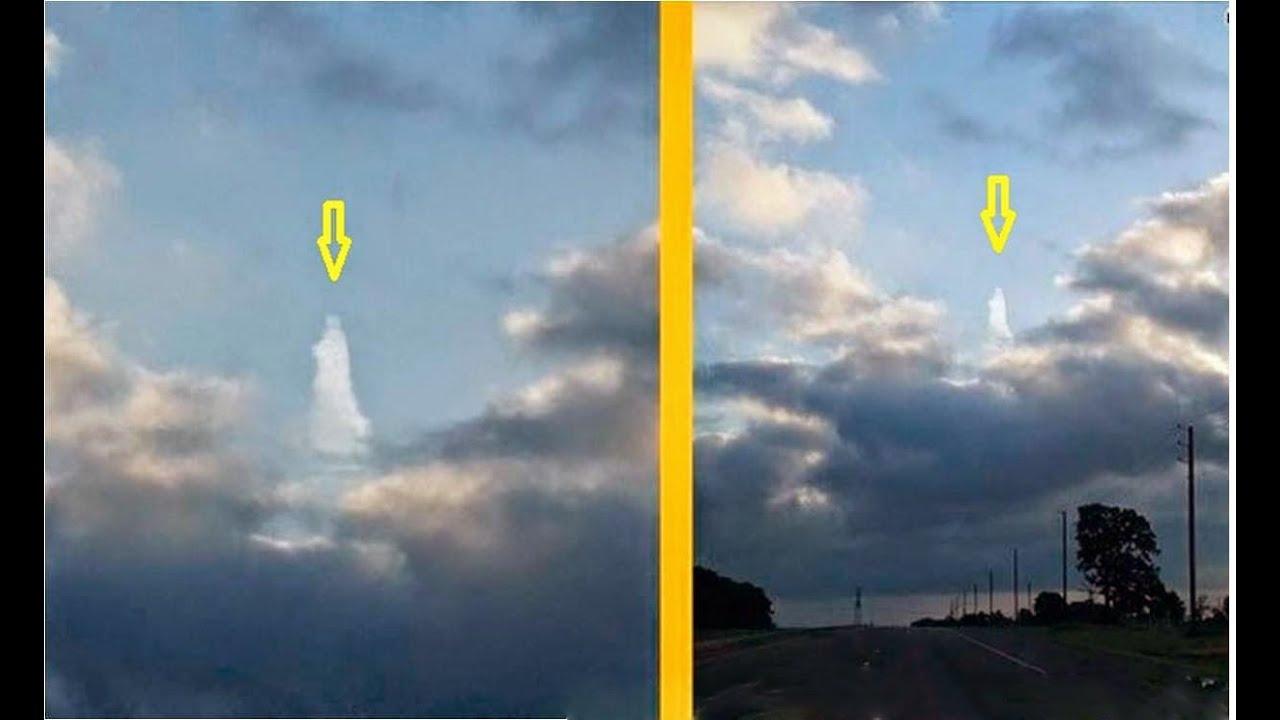 Dios Aparece En El Cielo!!!!