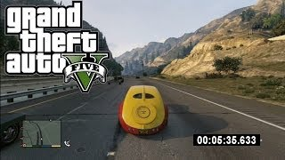 GTA 5: WORLD RECORD! (Fastest Lap Around Los Santos) Grand Theft Auto 5 by Whiteboy7thst