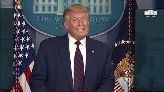 09/04/20: President Trump Holds a News Conference