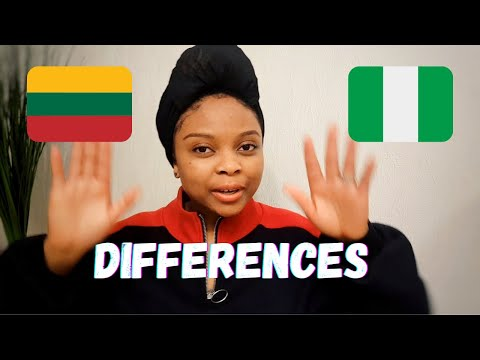 THE DIFFERENCES BETWEEN LITHUANIA AND NIGERIA.