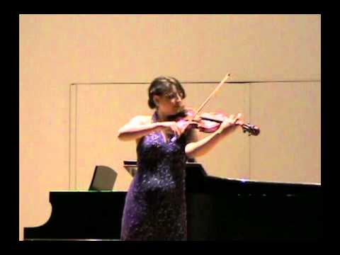 Kreisler Recitative and Scherzo, Ledah Finck Violin