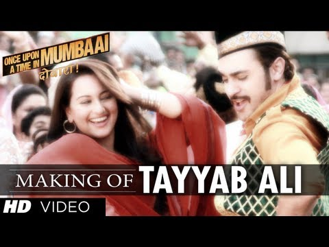 Tayyab Ali Song Making Once upon A Time In Mumbaai Dobara | Sonakshi Sinha, Imran Khan