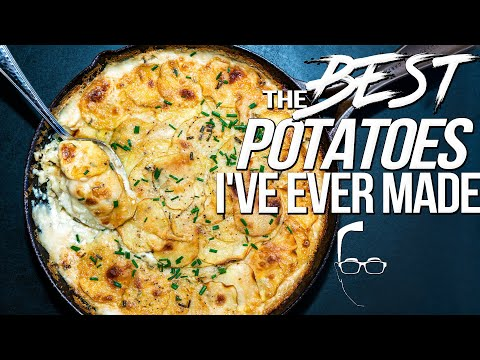 LIFE-CHANGING SCALLOPED POTATOES - AKA THE BEST POTATOES I'VE EVER MADE | SAM THE COOKING GUY 4K