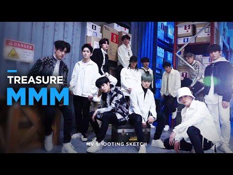 [Pops in Seoul] MMM!💚 TREASURE(트레저)'s 🎶MV Shooting Sketch🎨