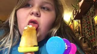 Testing weird Pinterest popsicles PT.2 (eating)