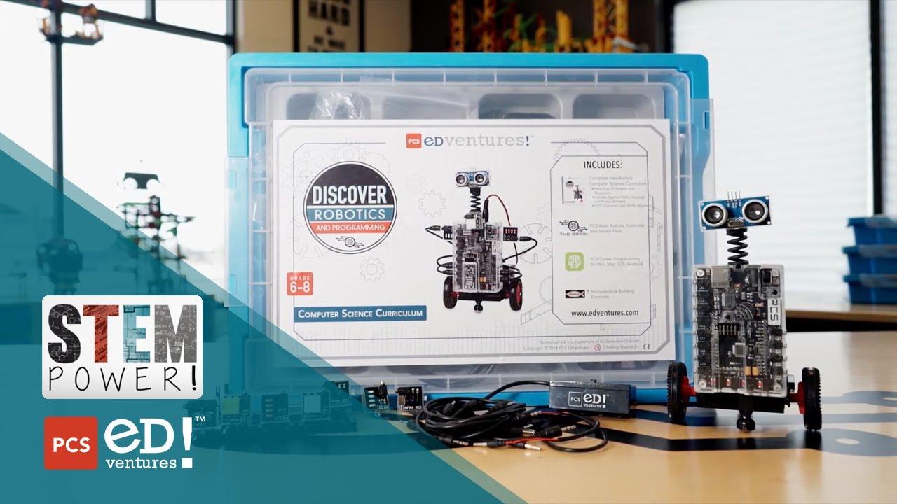 Discover Robotics & Programming - Elementary Tech Ed | PCS Edventures