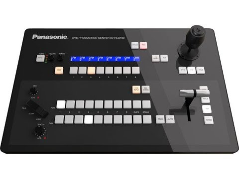 Panasonic AV-HLC100 NDI Live Streaming Production Switcher