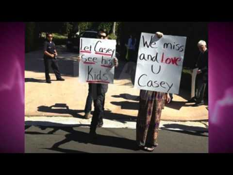 Casey Kasem's Kids Protesting to See Dad!