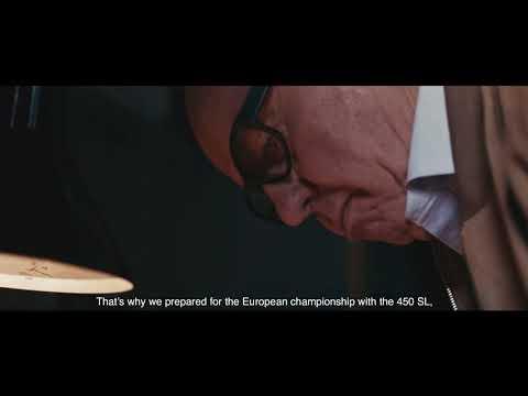 Mercedes AMG Hans Werner Aufrecht 50years Driving Performance
