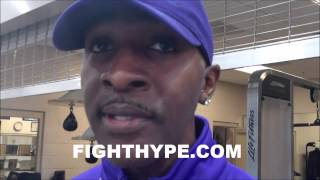 "BARRY HUNTER REFLECTS ON HISTORY WITH ANGEL AND DANNY GARCIA: ""WE GOT A LITTLE BACKGROUND"""
