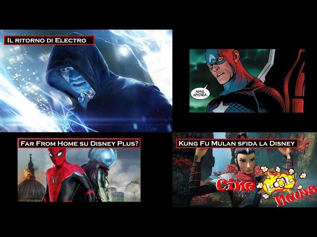Il ritorno di Electro - Kung Fu Mulan sfida Disney- Far From Home su disney plus