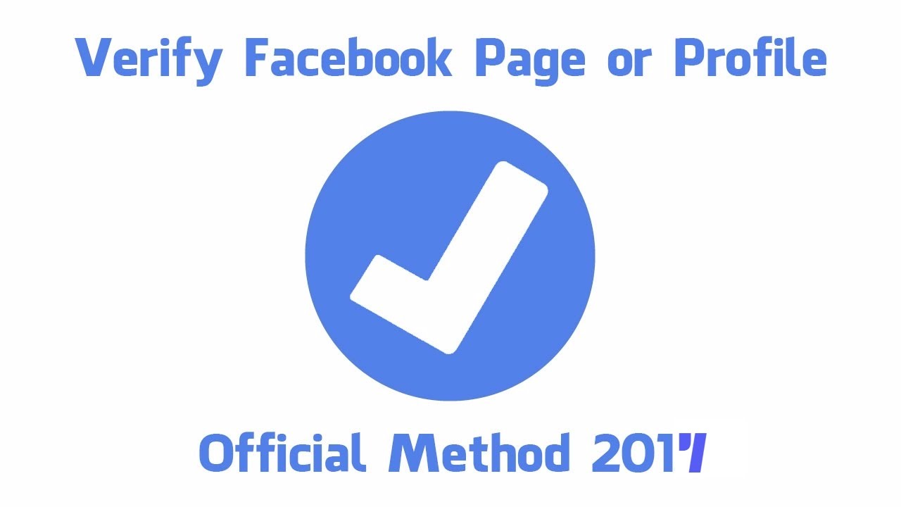 Verify Facebook Profile In Just 10 Seconds How To Verify Facebook Profile  Get Blue Badge