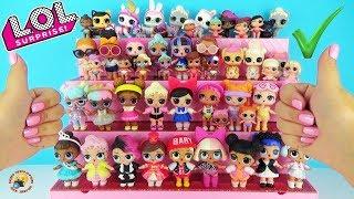 Моя коллекция КУКОЛ ЛОЛ Собираем Домик для ЛОЛ Магазин Подиум Dolls House ЛОЛ Сюрприз ЗОЛОТАЯ Кукла