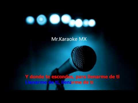 Karaoke Hoy Tengo Ganas De Ti ( Alejandro Fernández )